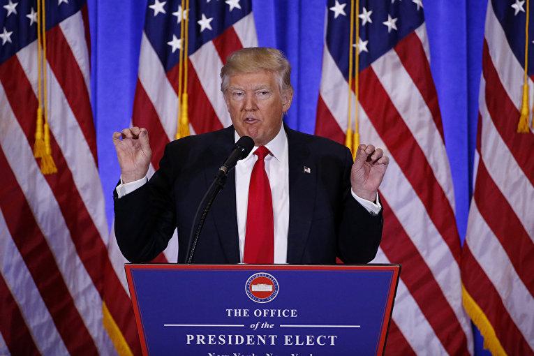 Первая пресс-конференция Трампа