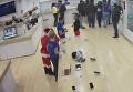 Танцующий Санта-Клаус украл ноутбук из магазина в Тбилиси