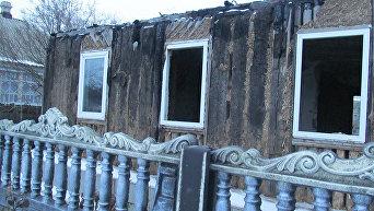 Последствия обстрелов в Донбассе (Попасная)