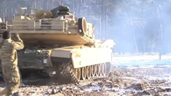Танковая бригада США расквартировывается в Польше. Видео