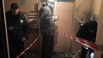 Взрыв в киевской многоэтажке