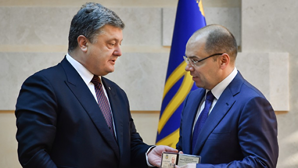 Петр Порошенко назначил нового губернатора Одесской области