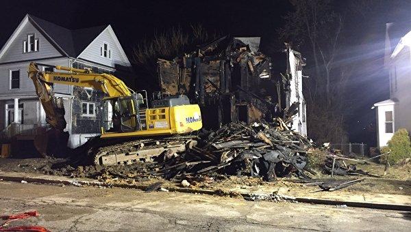 Погибли шестеро детей— Пожар вБалтиморе