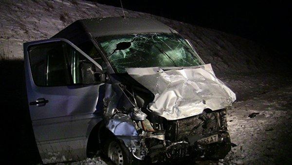 НаБуковине столкнулись легковушка имикроавтобус: четверо погибших