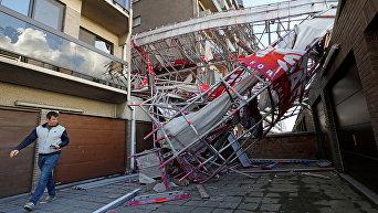 Бельгию накрыл ураган
