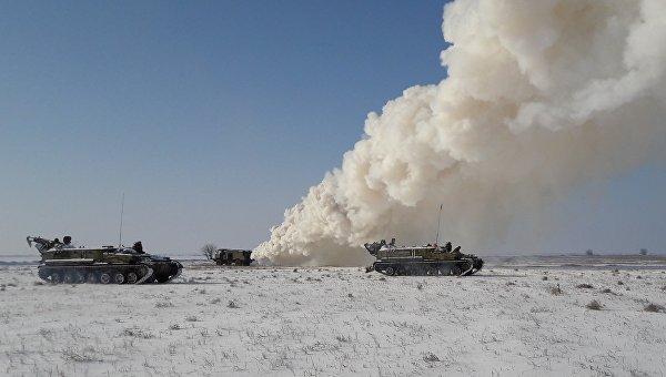 Учения подразделений ПВО прошли в Херсонской области