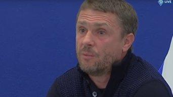 Главный тренер киевского Динамо встретился с болельщиками. Видео
