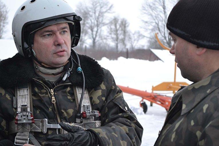 Учебные полеты бомбардировочной авиации ВВС Украины в Хмельницкой области