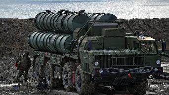 Полк С-400 заступил на боевое дежурство в Крыму