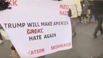 Массовый протест против Трампа в США