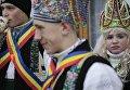 Празднование Маланки в селе Красноильск Черновицкой области