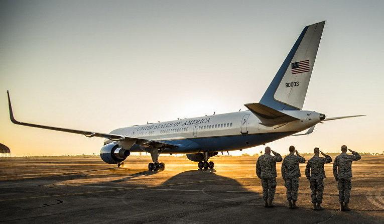 Военно-воздушные силы США опубликовали подборку лучших фото за год