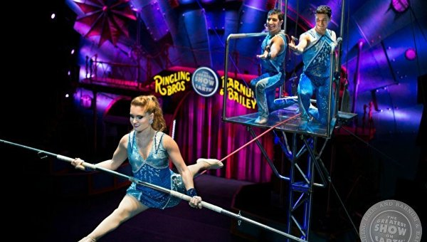 Цирк Ringling Brothers and Barnum & Bailey