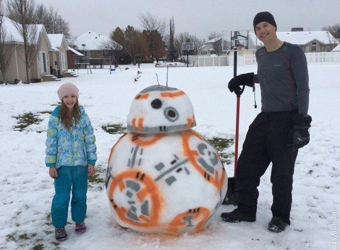 Снеговики Одессы