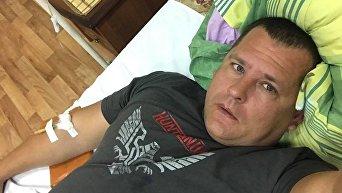 Мэр Днепра Борис Филатов в больнице