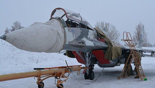 Полеты бригады тактической авиации командования Центр ВВС Украины