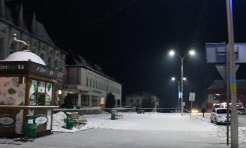 Стрельба в Житомирской области. Видео