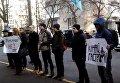 Митинг под ГПУ против Бальчуна-гастролера