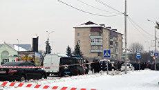 Протест жителей Олевска