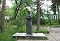 Музей и памятник Марко Вовчок в Нальчике. Архивное фото