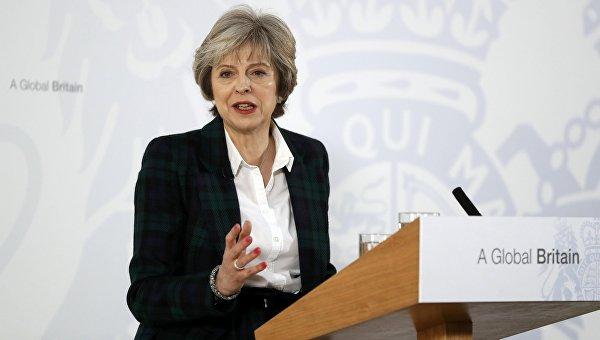 Тереза Мэй в среду попросит королеву о роспуске британского парламента