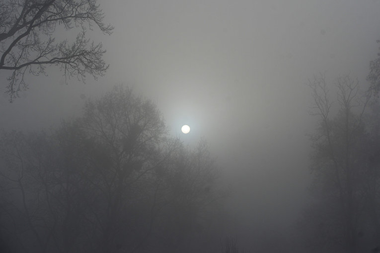 Названа главная причина— Туман вКиеве