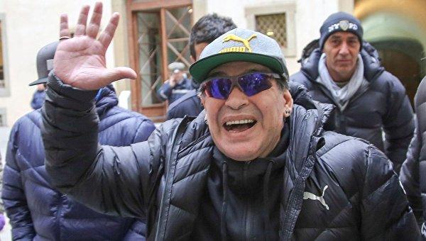 Легенда футбола Диего Марадона