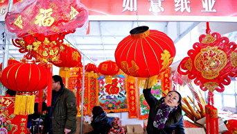 Лунный новый год в Китае