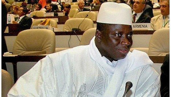 Президент Гамбии объявил вгосударстве чрезвычайное положение
