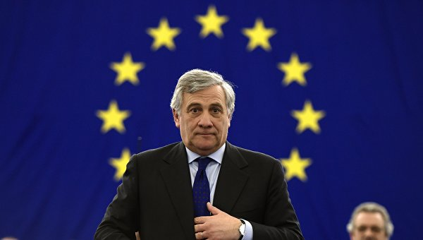 Новый глава Европарламента Антонио Таяни