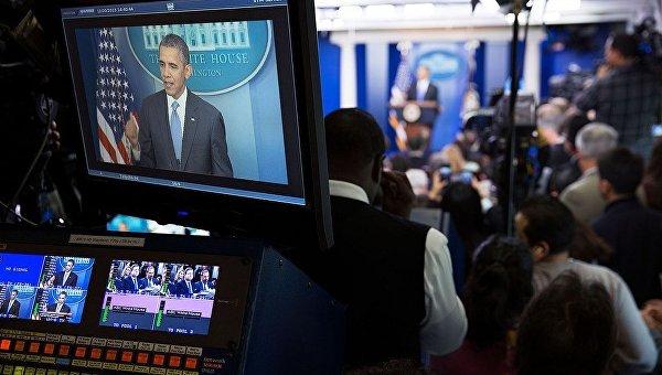 Итоговая пресс-конференция 44-го президента США Барака Обамы