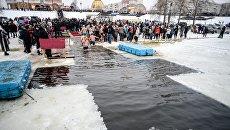 Крещенские купания в Киеве. Архивное фото