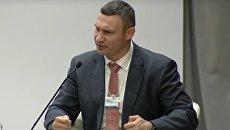 Снова Кличко. Мэр Киева не угадал размеры Франции. Видео