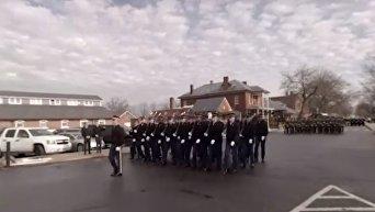 Репетиция военного парада в США перед инаугурацией Трампа. Видео
