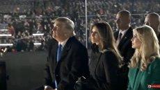 Концерт в честь предстоящей инаугурации Дональда Трампа в Вашингтоне. Видео