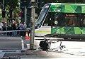 Наезд на пешеходов в Мельбурне. Место инцидента