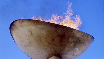 Олимпийский огонь. Архивное фото