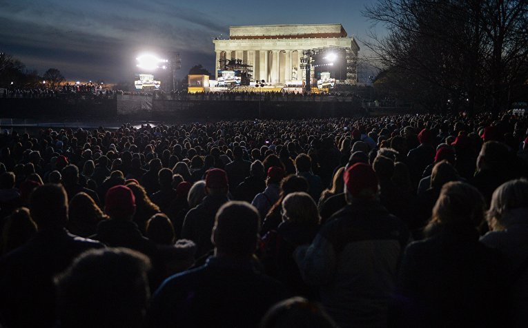 Концерт, посвященный инаугурации Д.Трампа