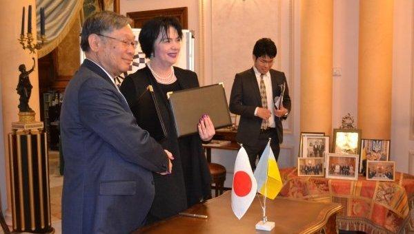 Япония купит для украинских гимнастов оборудование на $74 тыс.