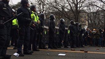 Протесты и беспорядки в Вашингтоне