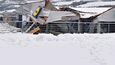 Спасательная операция в Италии, где лавиной накрыло отель