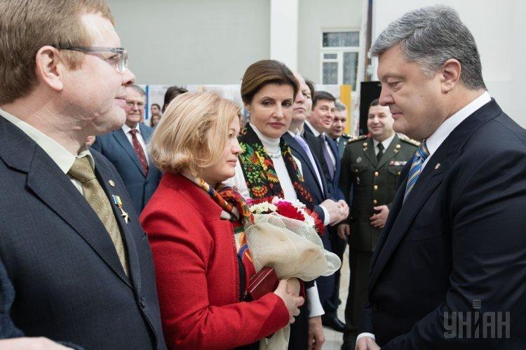 Петр Порошенко принял участие в торжествах по случаю Дня Соборности Украины