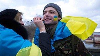 Украинцы. Архивное фото