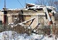 Ситуация в поселке Спартак в Донецкой области