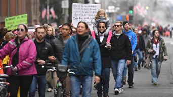 Марш женщин в Вашингтоне