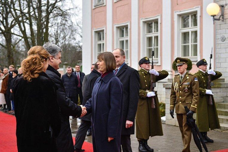 Визит Петра Порошенко в Эстонию