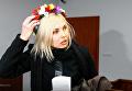 Активистка Femen Яна Жданова