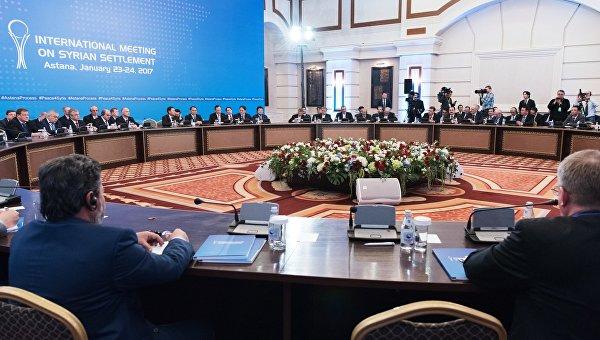 Российская Федерация, Иран иТурция создадут трёхсторонний механизм для контроля перемирия вСирии