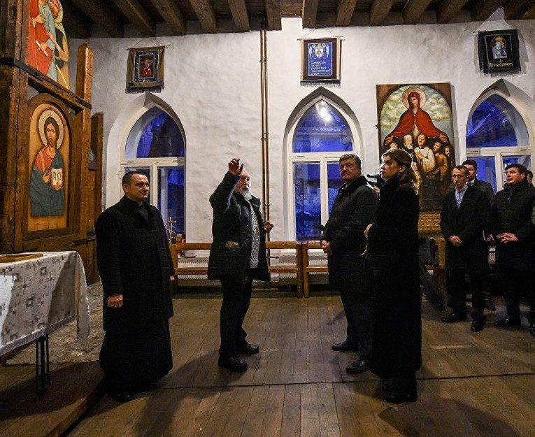 Визит Порошенко в Эстонию