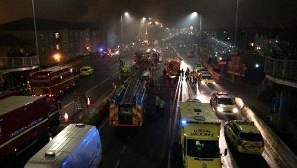 Взрыв произошел в жилом доме в Лондоне